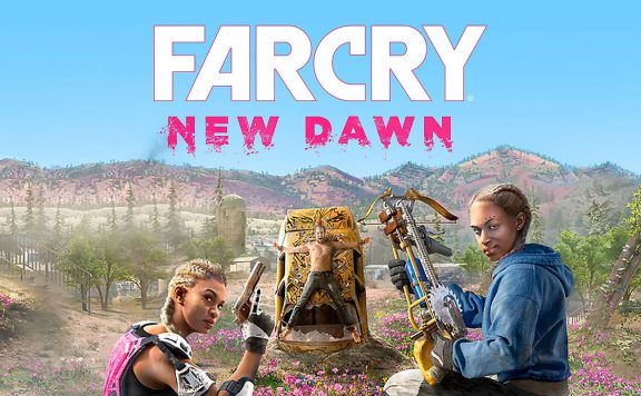 Far-Cry-New-Dawn-Review-Logo