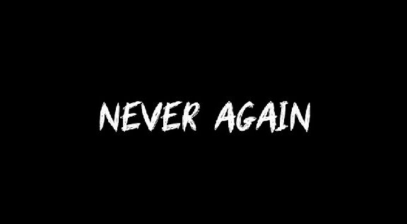 Never-Again-Logo