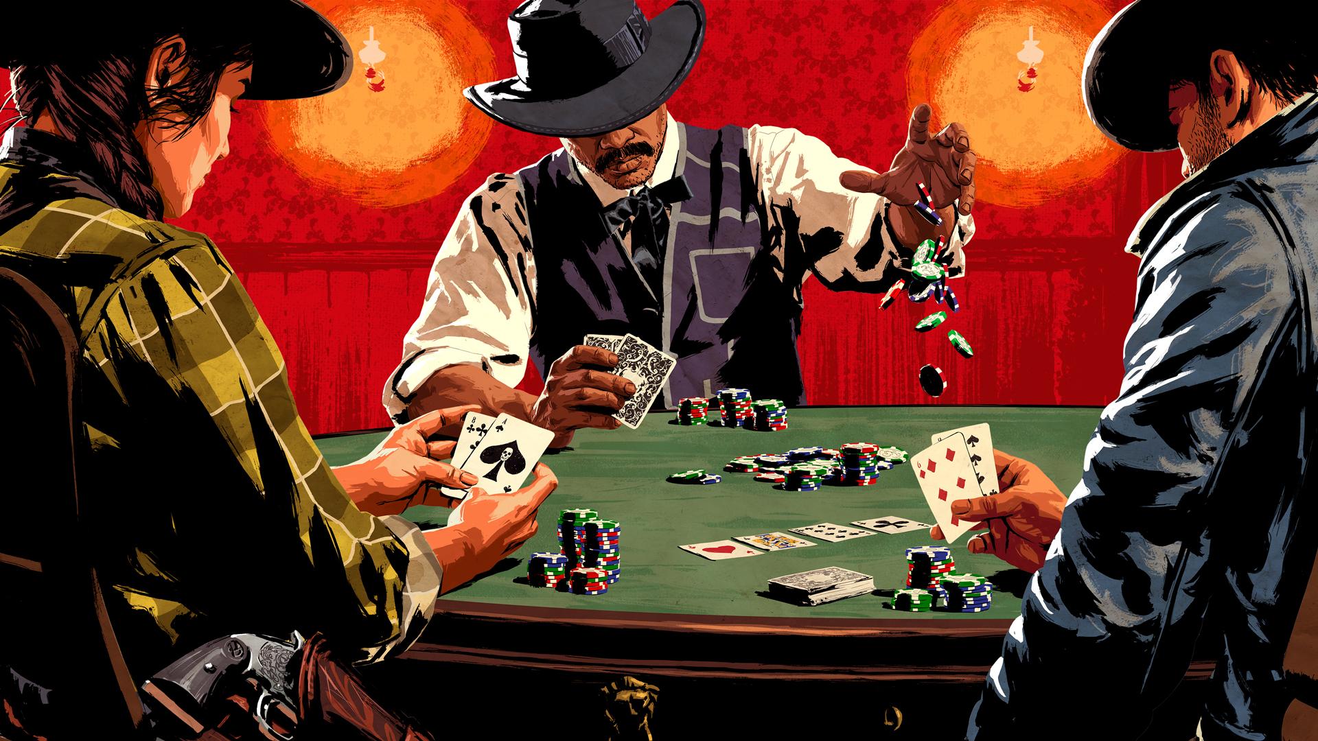 Любимый покер - на мониторе
