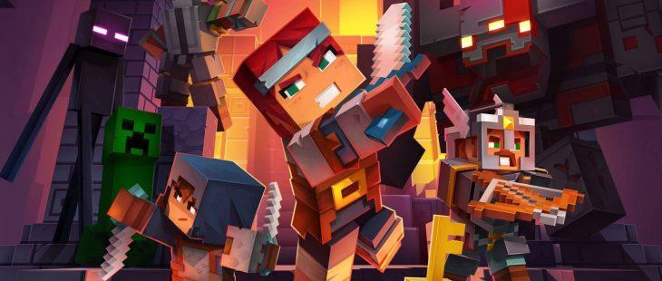 Minecraft-dungeons-game-logo