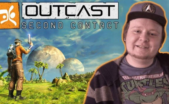 Outcast-Second-Contact-video-review-logo
