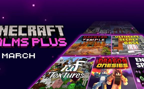 Minecraft-Realms-Plus-March-Logo