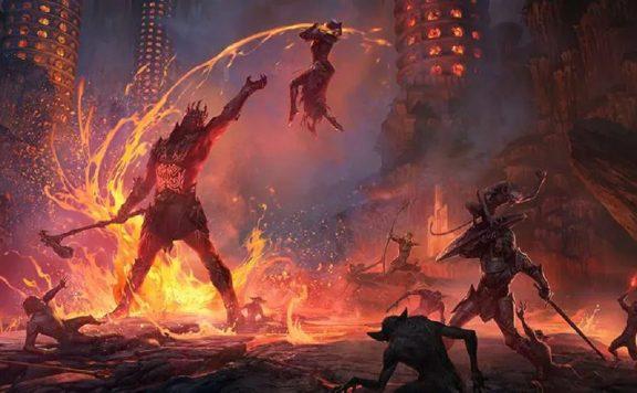 The-Elder-Scrolls-Online-Flames-Of-Ambition-Released-Logo