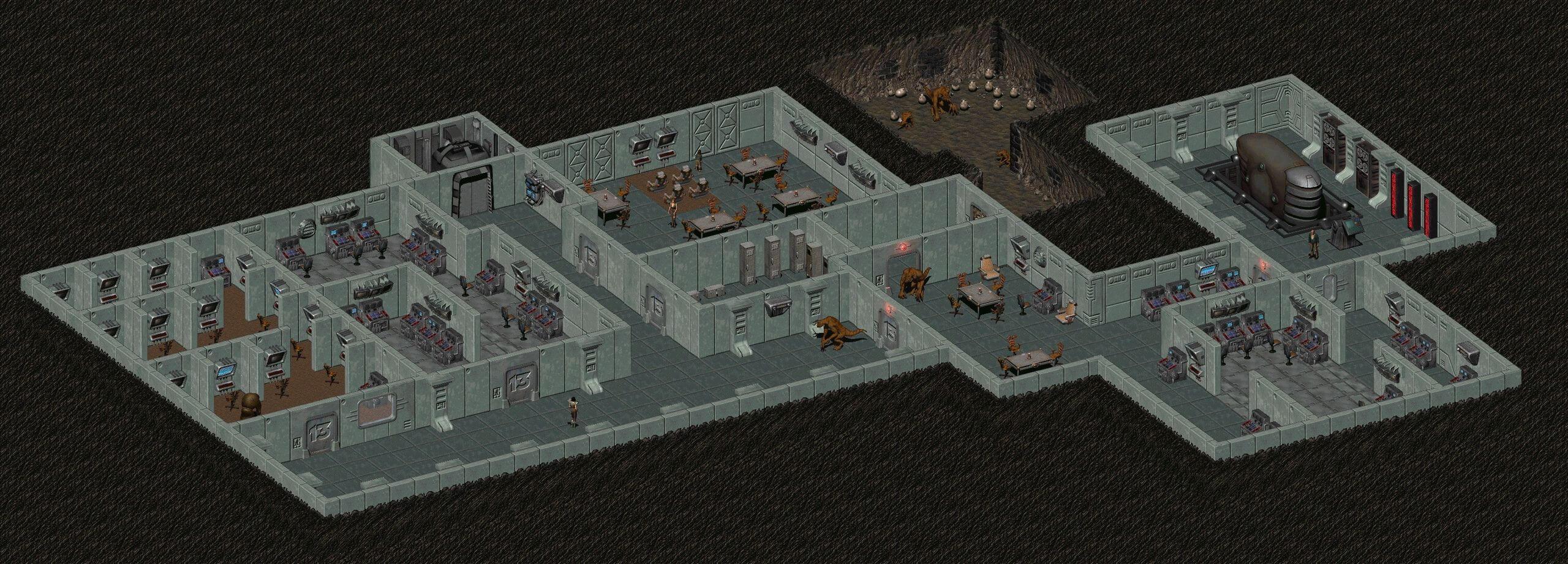 Игролор - убежища Fallout 2