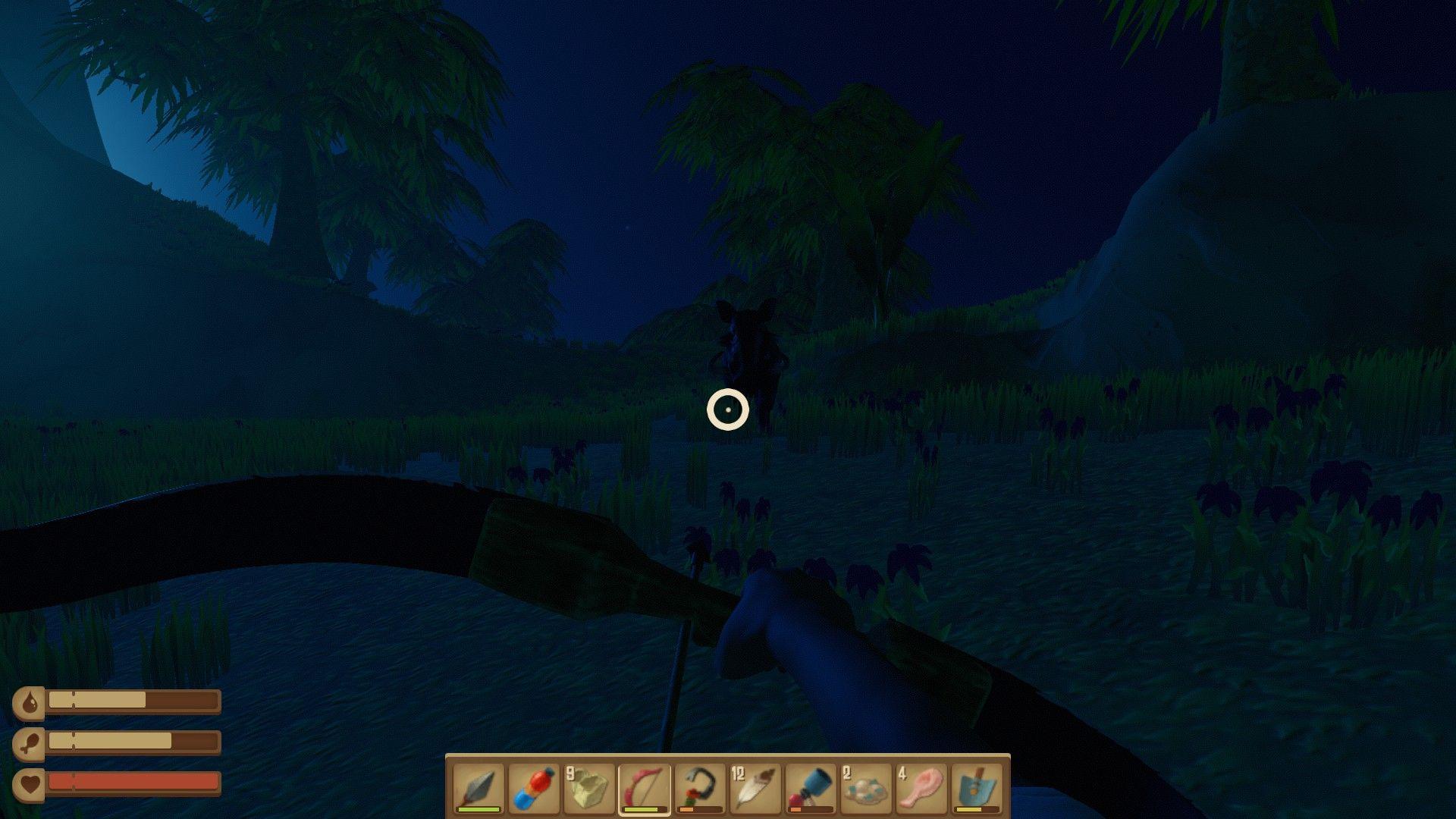 Стрельба из лука в Raft