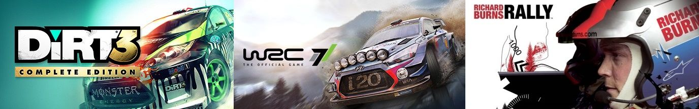 Strategy & Dirt Rally Like Games