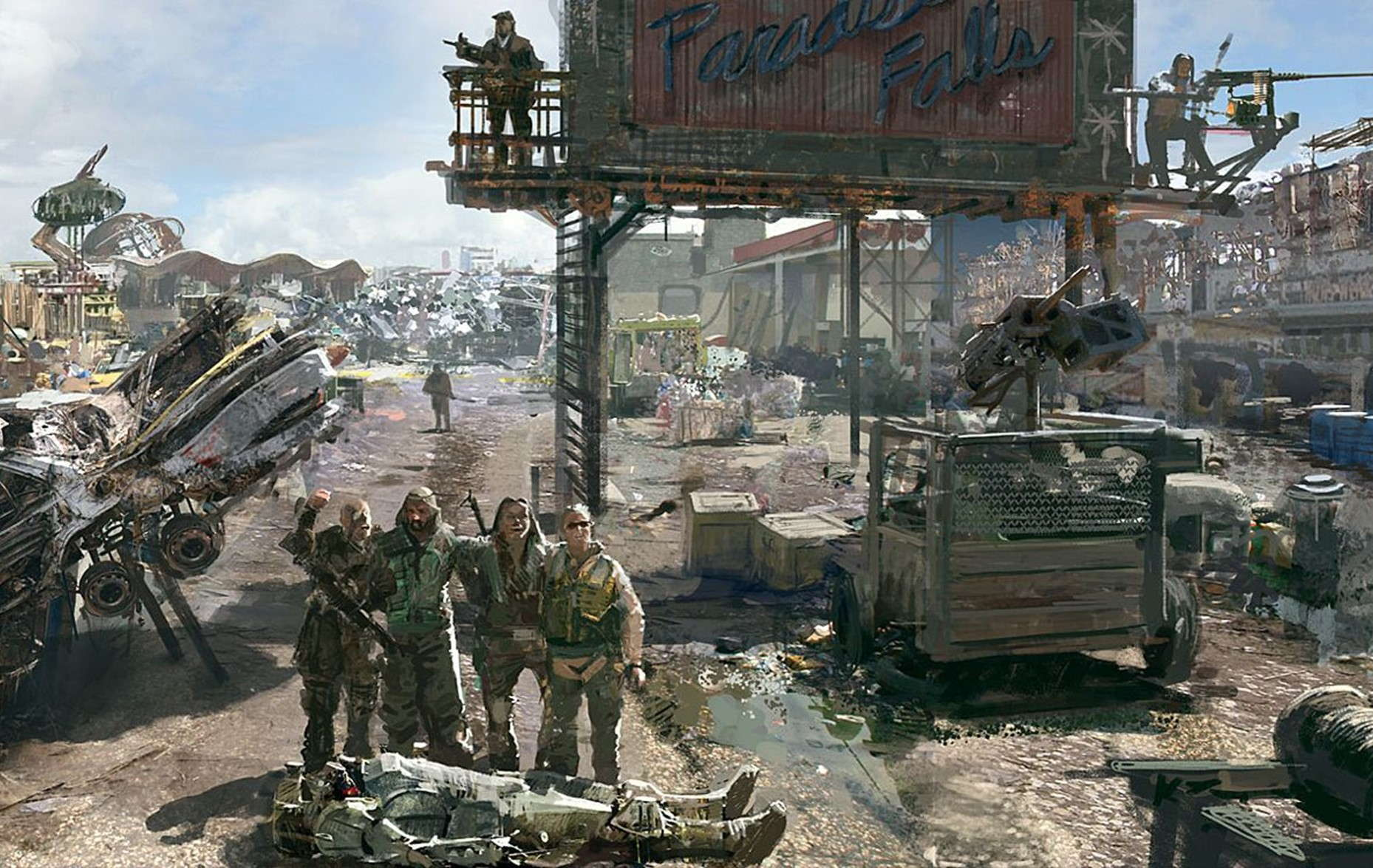Fallout Vaults